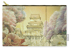 Castle Himeji - Sakura Carry-all Pouch by Sorin Apostolescu