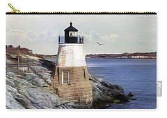 Carry-all Pouch featuring the photograph Castle Ill Light by Robin-Lee Vieira