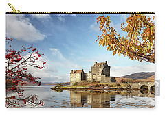 Castle In Autumn Carry-all Pouch by Grant Glendinning
