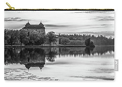 Castle In Black And White Carry-all Pouch