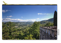 Castle In Chianti, Italy Carry-all Pouch