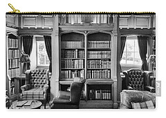 Carry-all Pouch featuring the photograph Castle Library by Christi Kraft