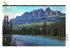 Castle Mountain, Ab  Carry-all Pouch