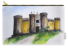 Castle Nuovo, Napoli Carry-all Pouch by Clyde J Kell