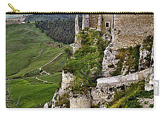 Castle Of Pietraperzia Carry-all Pouch by Patrick Boening