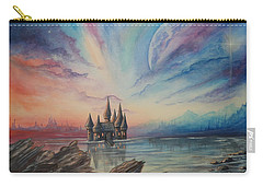 Castle On A Lake Carry-all Pouch
