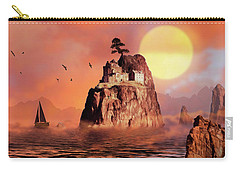 Castle On Seastack Carry-all Pouch