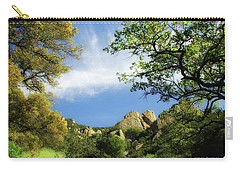 Castle Rock Carry-all Pouch by Donna Blackhall