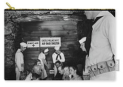 Castle Village Air Raid Shelter Carry-all Pouch