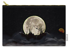 Carry-all Pouch featuring the photograph Castles In The Clouds by Shannon Harrington