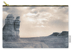 Carry-all Pouch featuring the photograph Castles Of Wonder by Thomas Bomstad