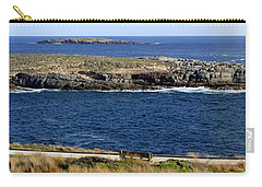 Carry-all Pouch featuring the photograph Casuarina Islets by Stephen Mitchell