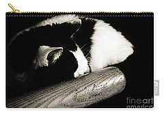 Cat And Bat Carry-all Pouch