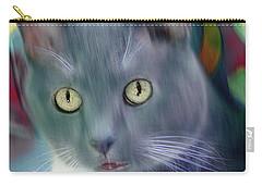 Cat Boticas Portrait 2 Carry-all Pouch