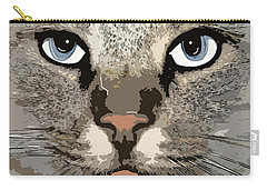 Cat Carry-all Pouch by Cynthia Powell