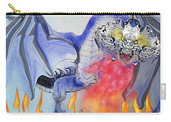 Cat Dragon Carry-all Pouch