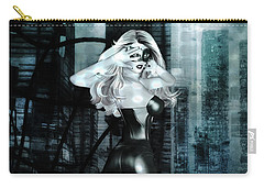 Cat Girl Comic Like Pinup Carry-all Pouch