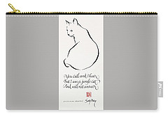 Cat Haiku Carry-all Pouch