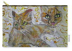 Cat Named Phoenicia Carry-all Pouch by AJ Brown