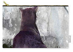 Cat's Blue Moon Carry-all Pouch