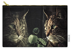Cat Reflecting Carry-all Pouch