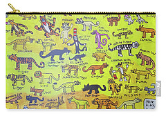 Cat Styles Carry-all Pouch