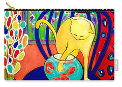 Cat - Tribute To Matisse Carry-all Pouch
