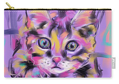 Cat Wild Thing Carry-all Pouch