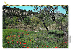 Catalan Countryside In Spring Carry-all Pouch