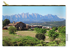 Catalan Landscape In Spring Carry-all Pouch