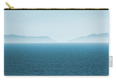 Catalina Island Large Panoramic Color Fine Art Print On Metal Carry-all Pouch by Ben and Raisa Gertsberg