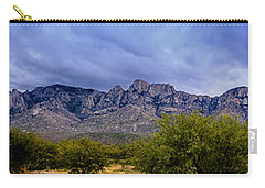 Carry-all Pouch featuring the photograph Catalina Mountains P1 by Mark Myhaver