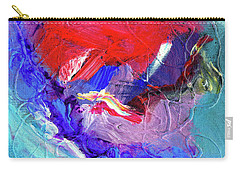Carry-all Pouch featuring the painting Catalyst by Dominic Piperata