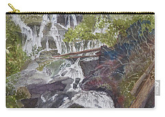 Catawba Falls - Working Notes Carry-all Pouch by Joel Deutsch