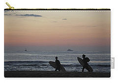 Catch A Wave By Frosty Hesson Carry-all Pouch by Robert Banach