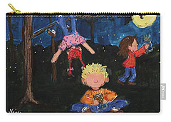 Catching Fireflies Carry-all Pouch by Terri Einer