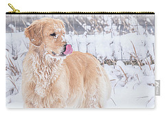 Catching Snowflakes Carry-all Pouch
