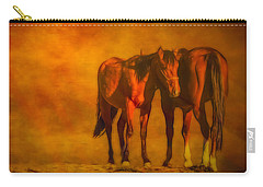 Catching The Last Sun Digital Painting Carry-all Pouch