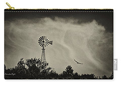 Catching The Updraft Carry-all Pouch by Karen Slagle
