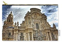 Catedral De Murcia Carry-all Pouch by Angel Jesus De la Fuente