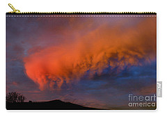 Caterpillar Cloud In The Sky Carry-all Pouch