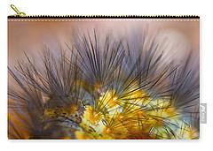 Caterpillar Hair Carry-all Pouch
