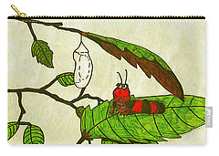 Caterpillar Whimsy Carry-all Pouch