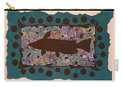 Catfish Silhouette Carry-all Pouch