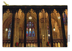 Carry-all Pouch featuring the photograph Cathedral Arches by Jessica Jenney