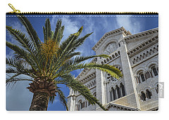 Carry-all Pouch featuring the photograph Cathedral At Monte Carlo by Allen Sheffield