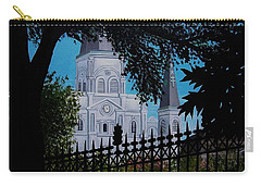 Cathedral At The Square Carry-all Pouch