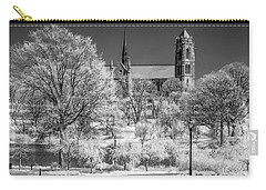 Carry-all Pouch featuring the photograph Cathedral Basilica Of The Sacred Heart Ir by Susan Candelario