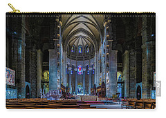 Carry-all Pouch featuring the photograph Cathedral Of Saint John The Divine by Chris Lord