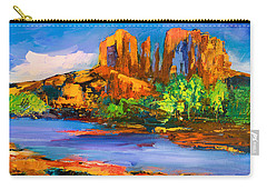 Cathedral Rock Afternoon Carry-all Pouch